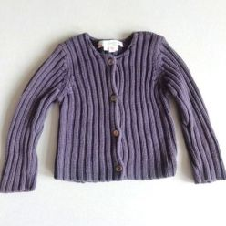 Bonpoint Ripp-Strickjacke