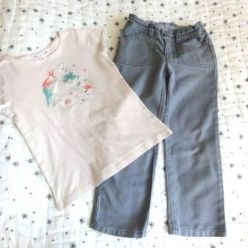 Bonpoint Set Hose & T-Shirt