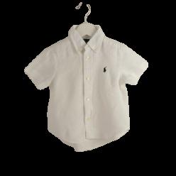 Ralph Lauren Leinen-Kurzarm-Hemd