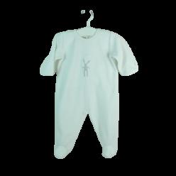Petit Bateau Pyjama weiß