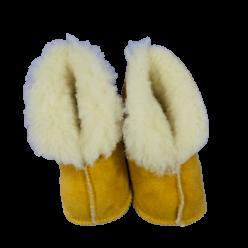 Handmade Lammfell-Stiefel