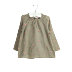 Bonpoint Flanell-Bluse