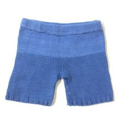 Handmade Strick-Shorts