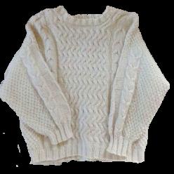 Handmade Strick-Pullover