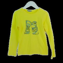Bonpoint gelbes Langarmshirt