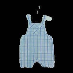 Mothercare karierte Latz-Shorts