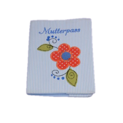 Handmade Mutterpass-Stoffbezug