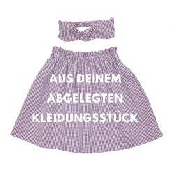 NEU! out of your blue Set aus Deinem Stoff (gefüttert)