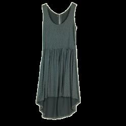 Asymmetrisches Jerseykleid