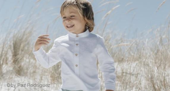 Paz Rodriguez Junge in Hemd
